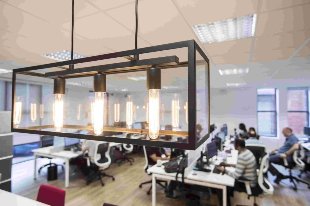 office design lighting netcel