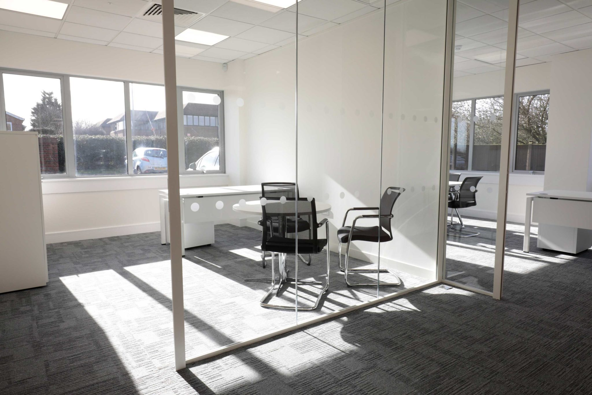 Thames valley air ambulance office design and fit out for Furniture zone thames